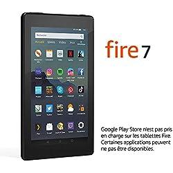 """Tablette Fire 7, écran 7"""", 32 Go (Noir) - avec offres spéciales"""