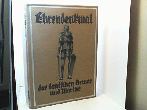 Ehrendenkmal der Deutschen Armee und Marine 1871 - 1918