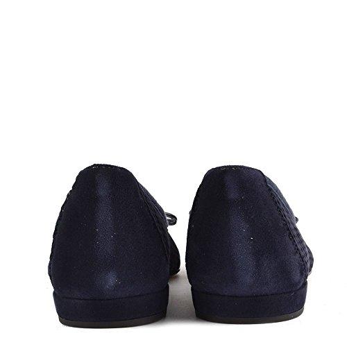 Elia B Chaussures Sofia Mocassins Femme Bleu