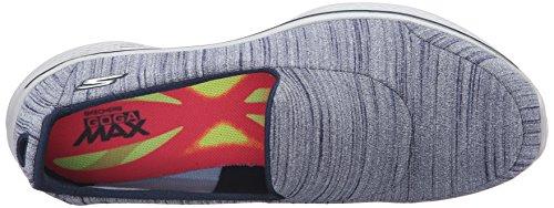 Skechers Go Walk 4-Satisfy, Chaussures de Running Femme Navy