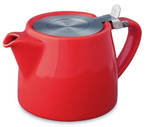 red-18oz-530ml-2-cup-loose-leaf-teapot-with-infuser-by-forlife