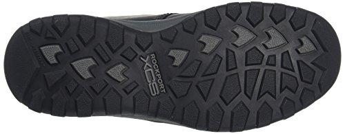 Rockport Herren Trail Tecnica Impermeabile Mid Desert Boots Schwarz (nero)