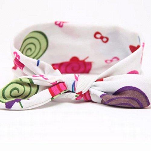 Bébés filles Bandeau Ularmo Bébé Enfant Filles bowknot Bandeau Hair Bow Band Head Decor Accessoires (F) A