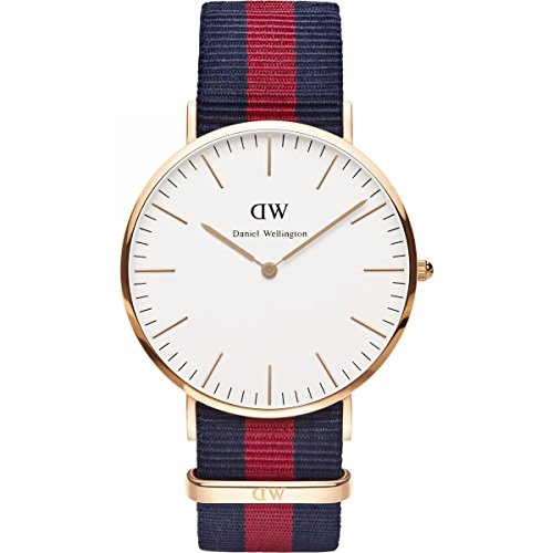 DANIEL WELLINGTON - Men's watch 40 mm, DANIEL WELLINGTON OXFORD ROSE GOLD DW00100001