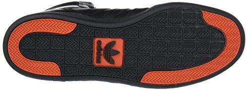 Sneaker Media Alta Adidas Unisex Adulto Nero (nucleo Nero / Nucleo Nero / Arancione Nativo)