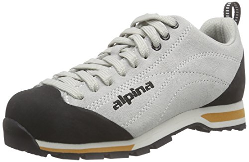 alpina Unisex-Erwachsene 680271 Trekking- & Wanderhalbschuhe, Grau (Light Grey), 38 EU Alpine-schuh
