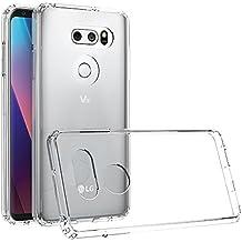 Custodia Clear per LG V30 di Xiu7, design ultrasottile e leggero-Trasparente