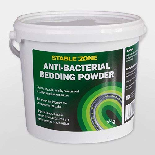 Animal Health Stable Zone Antibacterial Horse Bedding Powder Tub, 5 kg