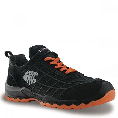 Chaussures de sécurité noir et orange Match S1P SRC Noir et orange