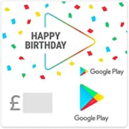 Google Play gift code - give the gift of games, apps and more (Email Delivery - GB Only)