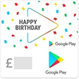 Google Play gift code - give the gift of games, apps and more (Email Delivery - UK Customers Only)