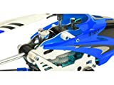 Syma S107G RC Hubschrauber 3-Kanal Infrarot mit Gyro (Blau)