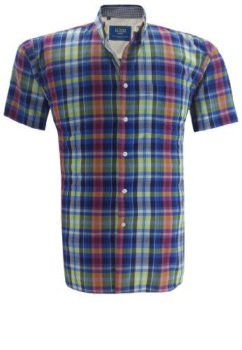 kenmore-camicia-casual-uomo-blu-54