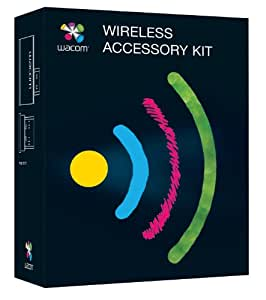 Wacom ACK-40401-N Wireless Accessory Kit - Black