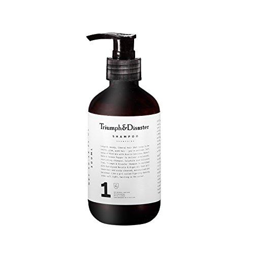 Triumph & Disaster Haarshampoo 300ml - Silikonfreie Akazie und Gypsophila 100{4a5f97fc661f1df63353e87fd7d38ad4dd0de9db39cd14d9c78a241b97412777} natürliche Tiefenreinigung Nährende hydrolysierte Keratin & Arganöl Reichhaltige Haar- & Kopfhautbehandlung