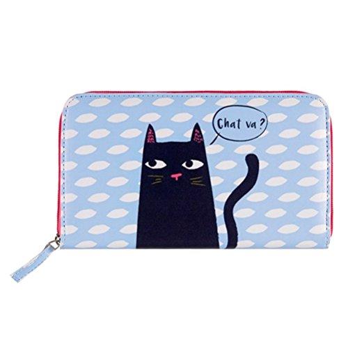 Portefeuille COMPAGNON Black Cat - Derrière la porte DLP