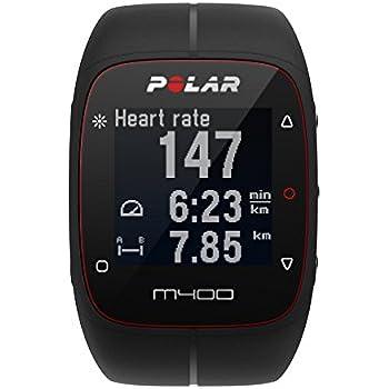 Polar M400 Cardiofrequenzimetro con GPS Integrato, Nero