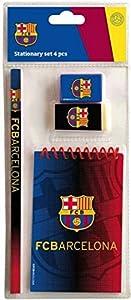 Export.CM 097223 FC Barcelona - Papelería (4 Piezas), Multicolor