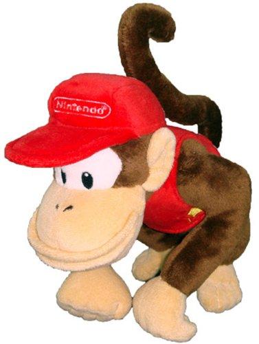 Preisvergleich Produktbild Nintendo Offizielles Super Mario Diddy Kong Plüsch, 15,2cm