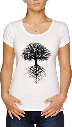 Árbol de Vida Camiseta Mujer Blanco