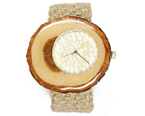 Hölzerne Uhr - Herrenuhr - Damenuhr - hölzerne Uhr Männer - Geschenk für Freund - Geschenk - Geburtstagsgeschenk - beste Freund Geschenk - Holz Uhr