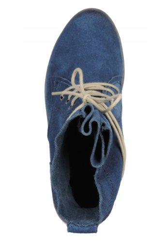 Marco Tozzi 25112-21 Stiefeletten Veloursleder Blau