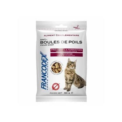 Francodex Supplementary Cat Hair Ball Feed 1