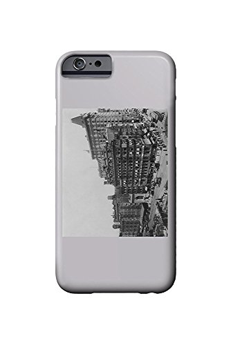 Street Scene of Park Place and Broadway NYC Photo (iPhone 6 Cell Phone Case, Slim Barely There)