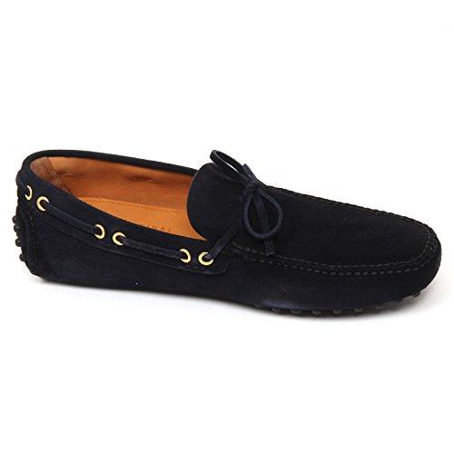 D0686 mocassino uomo CAR SHOE scarpa blu scuro loafer shoe man Blu scuro