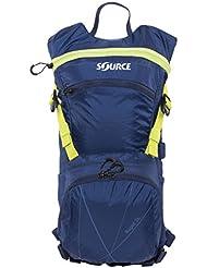 SOURCE Rapid Backpack Trinkrucksack 3 L Dark Blue/Green 2017 Outdoor