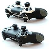 2 x PAXO PS4 Silikon Schutzhülle schwarz / PS4 Controller Sleeve Bundle