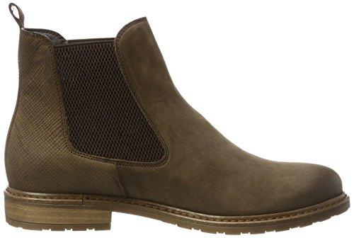 Tamaris Damen 25056 Chelsea Boots Braun (Maroon)