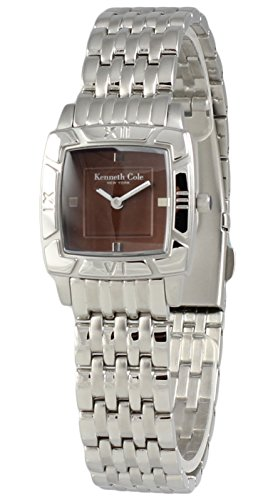 Kenneth Cole New York da donna in acciaio orologio analogico marrone braccialetto KC4469