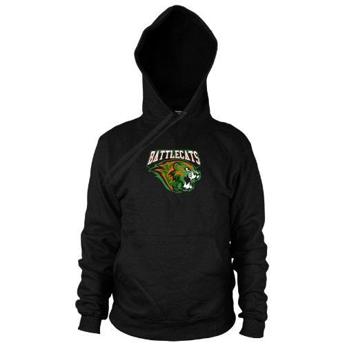 Kostüm Battlecat - Planet Nerd MotU: Battle Cats - Herren Hooded Sweater, Größe: XL, Farbe: schwarz