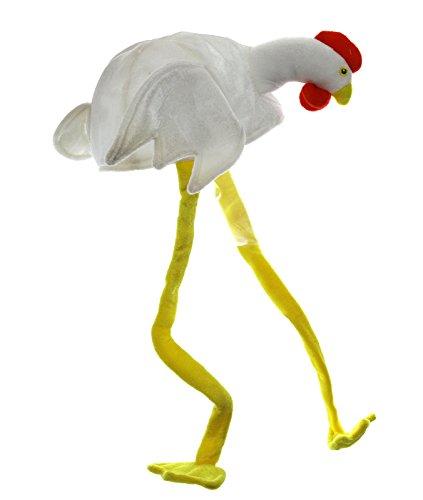 Preis am Stiel Karnevalsmaske Huhn mit Beinen Karneval | Fasching | Kostüm | Verkleidung (Kostüm Huhn Bein)