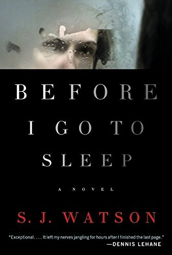 Before I Go to Sleep: A Novel by S. J. Watson (2011-06-14)