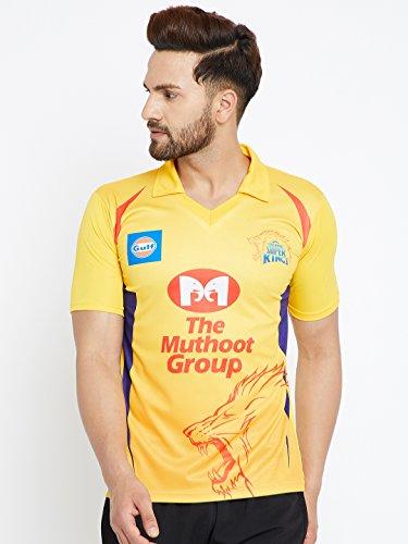 Sportyway Replica CHENNAI Cricket Jersey (XXL)