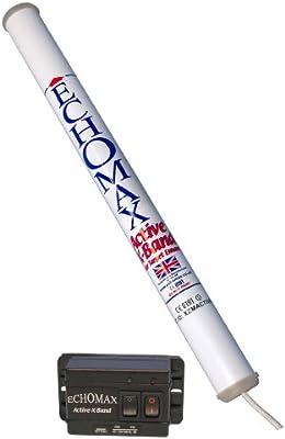 Echomax Active-X - Radar para barcos ( resistente al agua ), color blanco / negro