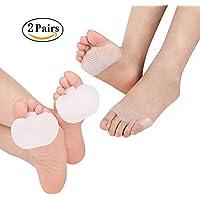 Preisvergleich für Ball of Foot Kissen & Mittelfuß Pads–Vorderfuß Einlagen für Metatarsal Support und Fuß Schmerzlinderung–Verhindern...