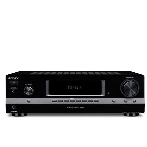 Sony STR-DH 100 Stereoreceiver (UKW-/MW-Tuner, 5X Audio-Eingänge, 2X Audio-Ausgänge, Digital Media Port) schwarz Sony Digital Media Port Bluetooth