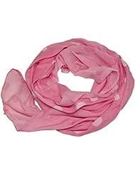 Seidenschal Seide Halstuch Schal Punkte Dots Farbverlauf Batik Cotton Tuch