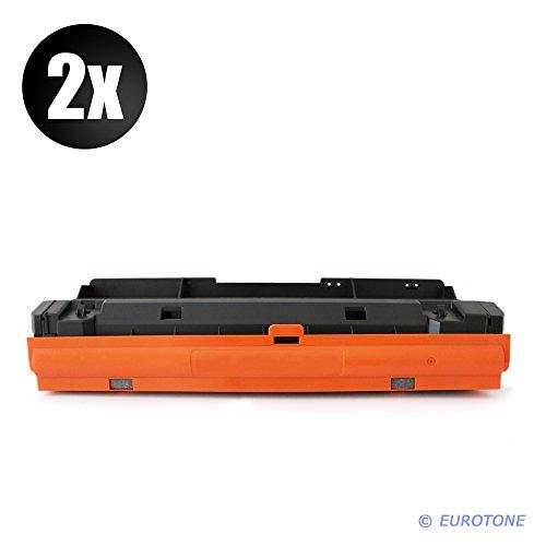 Preisvergleich Produktbild 2x Eurotone XXL Toner für Samsung ProXpress M 3825 3875 4025 4075 FW FX DW D ND NX FR FD Premium Line ersetzt MLT-D204E