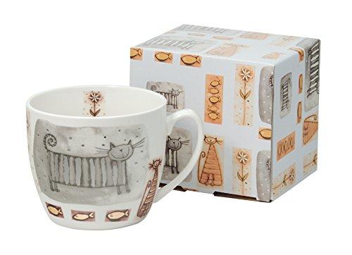Jumbo-Tasse XXL Kaffee-Becher Kaffeetasse Porzellan Teetasse Geschenk-Tasse Trinkbecher Mug 750 ml...