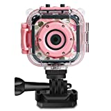 Kids Digital Camera Waterproof HD Sports Action Anti-Drop Underawter Video Cam