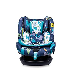 Cosatto CT4262 All in All + Group 0+123 Car Seat Dragon Kingdom (5PP 8.9 kg   11
