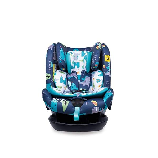 Cosatto CT4262 All in All + Group 0+123 Car Seat Dragon Kingdom (5PP 8.9 kg Cosatto Extended rear facing Suitable for all stages Extra security 1