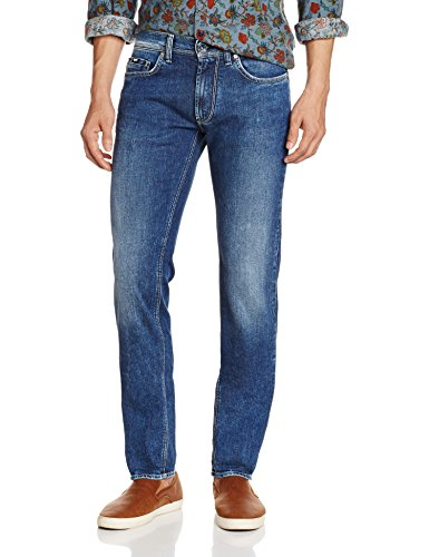 Gas Anders K WK79, Jeans Da Uomo, Blu, 36