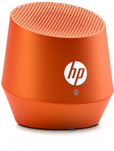 HP S6000 (G3Q05AA) Mini Bluetooth Lautsprecher (Bluetooth-fähig, Microsoft Windows XP/Vista/7/8/Android 3.0 /Apple iOS 4.3) orange Hp Portable Mp3