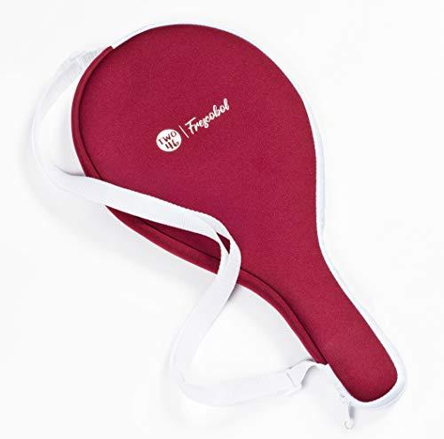 Frescobol-Tasche von two46 aus Neopren | perfekt für die Frescobol-Schläger von two46 (Rot) -
