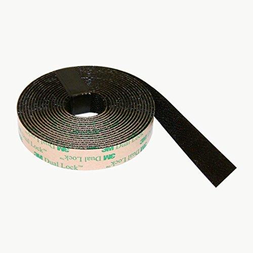 3M Scotch Sj4575 Dual Lock Low Profile Reclosable Fastener 5/8 In. X 10 Ft. Black by 3M (4 Unzen Roll)